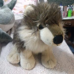 Snuggly Wolf Plush